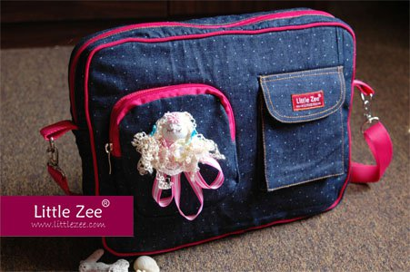 CarryAll Denim Bintik CD02