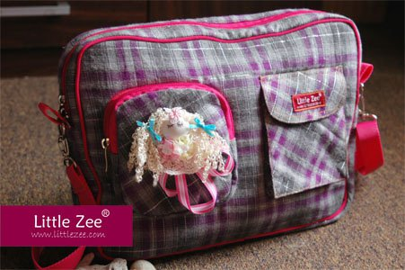 CarryAll Flanel Bintik CD03